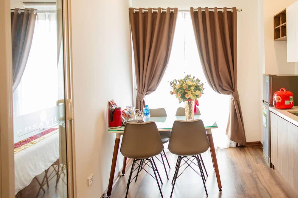 Deluxe apartman - Privát teakonyha