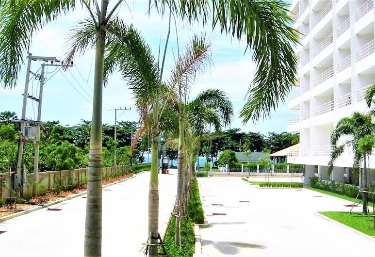 Fantastic sea View Beach Condo, Pattaya, Căn hộ, 1 giường cỡ king, Khuôn viên nơi lưu trú