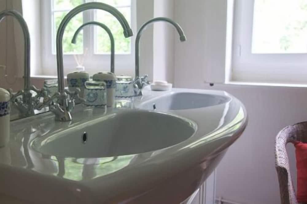 Dvojlôžková izba typu Deluxe - Umývadlo v kúpeľni
