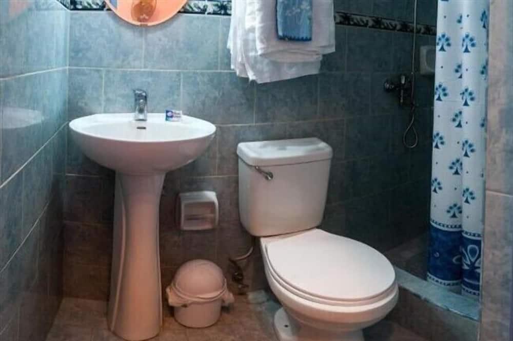 Camera doppia, 1 letto a una piazza e mezza, bagno privato - Bagno
