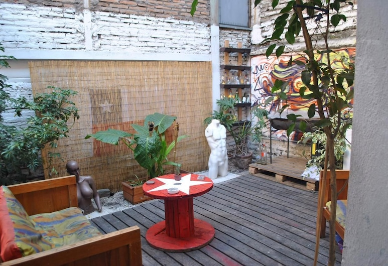 Urbano Hostel, Santiago, Dortoir Partagé, dortoir mixte, Terrasse/Patio