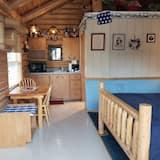 Traditional kämpingumaja, 1 lai voodi, vaade mägedele - Lõõgastumisala