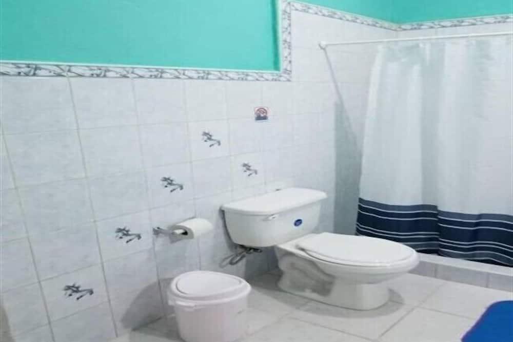 베이직룸, 침대(여러 개) - 욕실