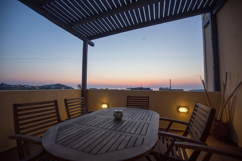 Ģimenes villa, skats uz jūru - Terase/iekšējais pagalms
