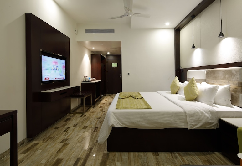 REGENTA INN RANIP AHMEDABAD, Ahmedabad, Executive Double Room, 1 Katil Raja (King), City View, Bilik Tamu