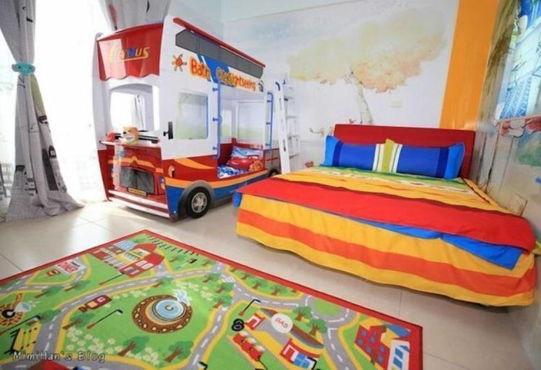 星幻家居, 台南市, 家庭頂樓客房, 1 間臥室, 非吸煙房, 共用浴室, 兒童主題客房