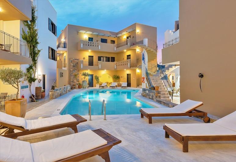 Residence Villas Hotel, Chersonisas, Baseinas