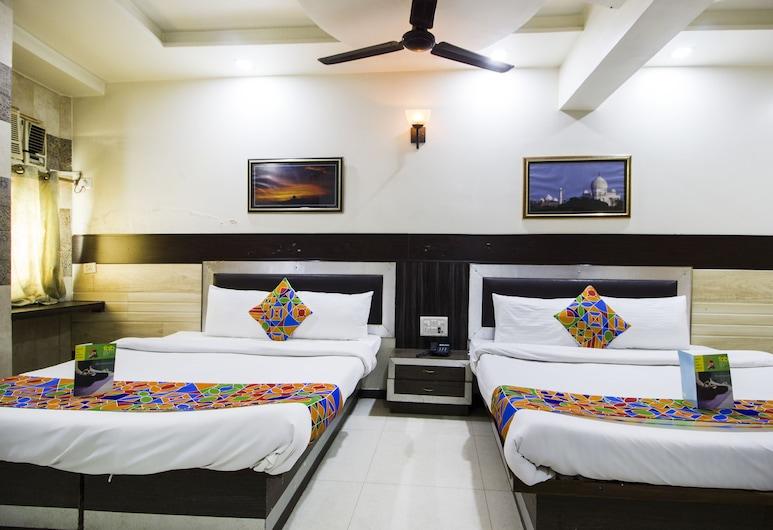 FabHotel Alpine, Agra, Deluxe Room, Guest Room