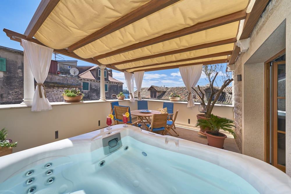 豪華公寓, 海景 - 私人 Spa 浴缸