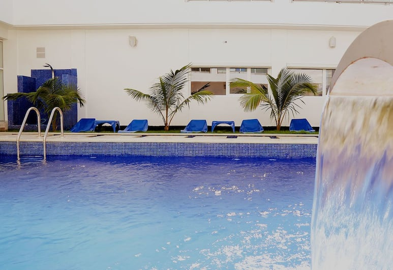 阿霍法所羅門王花園酒店, 洛美, 室外泳池