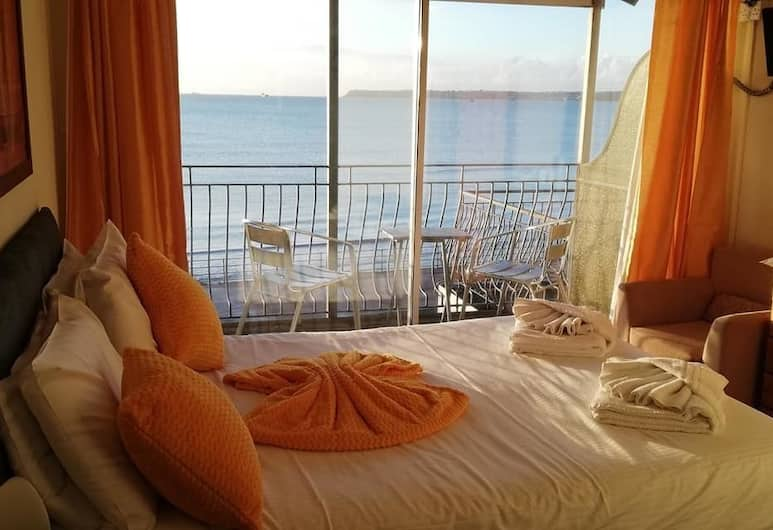 Kindaplace, Paignton, Double Room (with Balcony and Sea View), Guest Room
