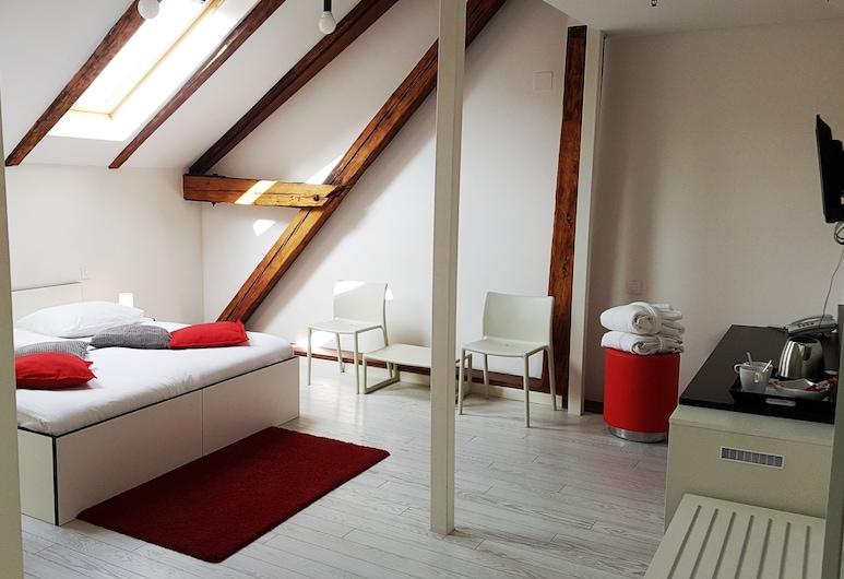 Art Hotel Like, Zagreb, Superior Üç Kişilik Oda, Oda