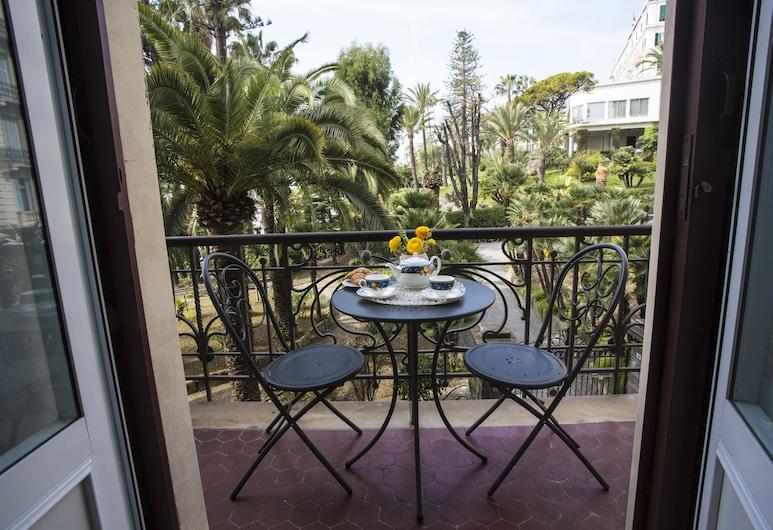 普羅莫納德魅力宅邸旅館, Sanremo, 豪華雙人房, 露台, 部分海景, 露台
