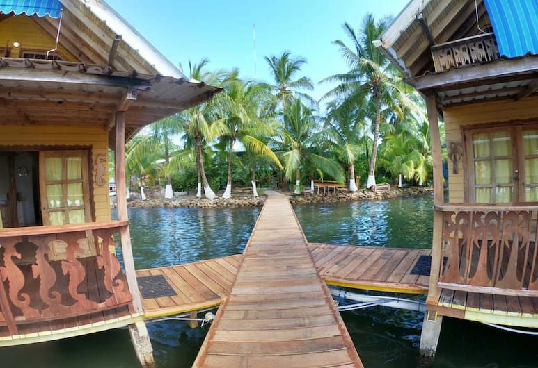 Koko Acqua Lodge, Bocas del Toro, Rıhtım