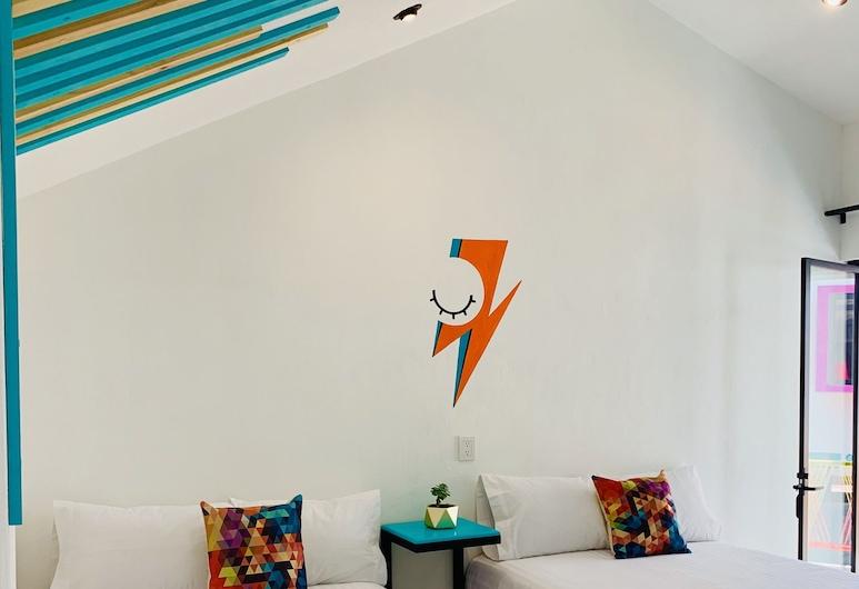 Suculenta B&B Boutique, San Cristobal de las Casas, Design Quadruple Room, 2 Double Beds, Guest Room