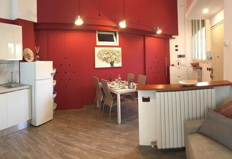 Barrilli Luxury Apartment, Milaan, Deluxe appartement, 1 slaapkamer, Woonruimte