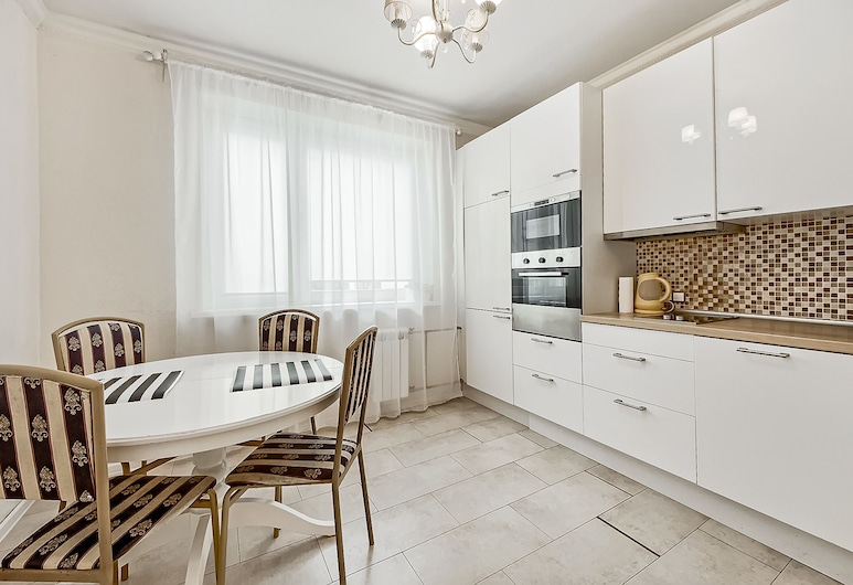 Prime Host apartments on Olimpiyskiy, Moscow, Apartment, Private kitchen
