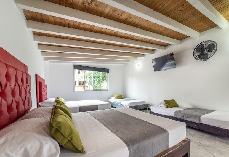 Ayenda 1227 Casa Palermo, Medellin, Familjerum - flera sängar, Gästrum