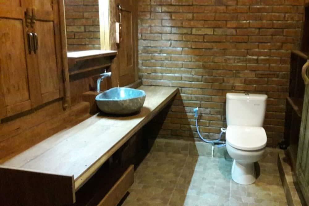 Quarto Duplo Panorâmico, Vista Colina - Casa de banho