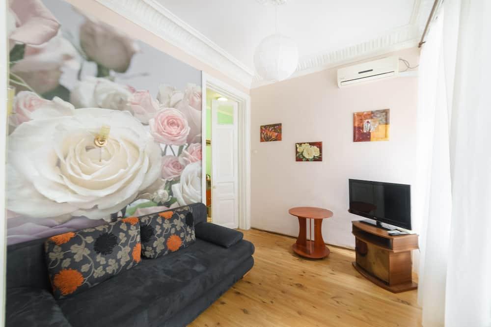 家庭公寓, 1 張加大雙人床及 1 張梳化床 - 客廳