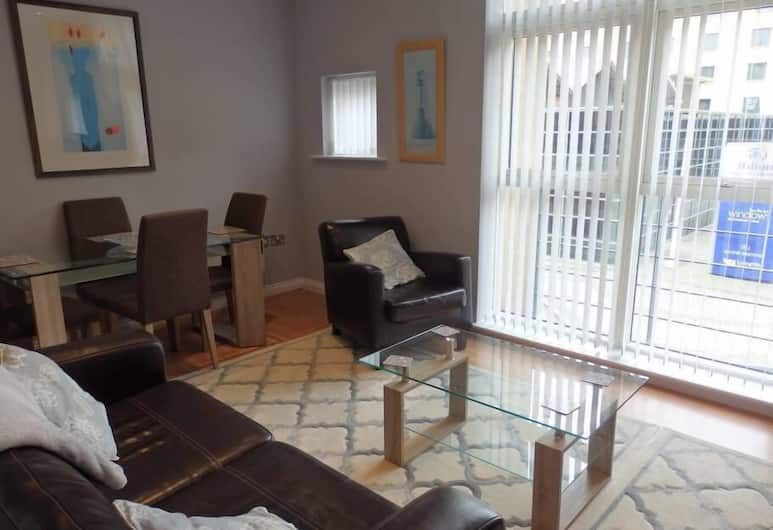 Beautiful Two Bedroom Apartment, Gateshead, Apartmán, 2 spálne, Obývacie priestory