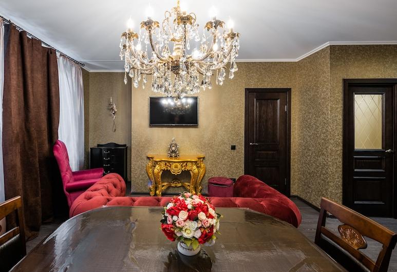 Prime Host apartments Savelovsky 1, Moskwa, Apartament, Salon