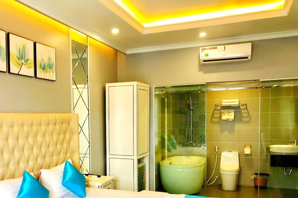 Habitación triple familiar, 1 habitación, para no fumadores - Baño