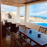 Obiteljska vila, 3 spavaće sobe, privatni bazen, pogled na more - Dnevni boravak