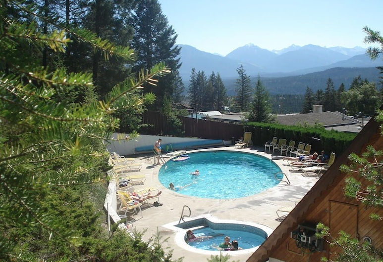 Motel Tyrol, Radium Hot Springs