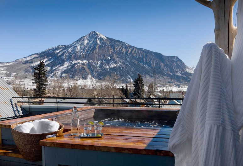 Eleven Experience Scarp Ridge Lodge, Crested Butte, Πισίνα στην ταράτσα
