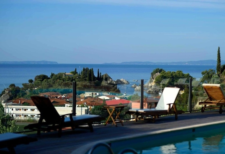 Enetiko Resort Hotel, Parga, Tripla Superior, Vista dalla camera