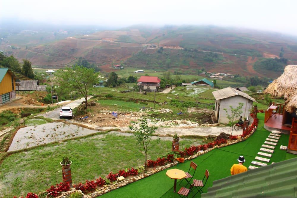 Family bangalo, 2 laia voodit, vaade mägedele - Vaade mägedele