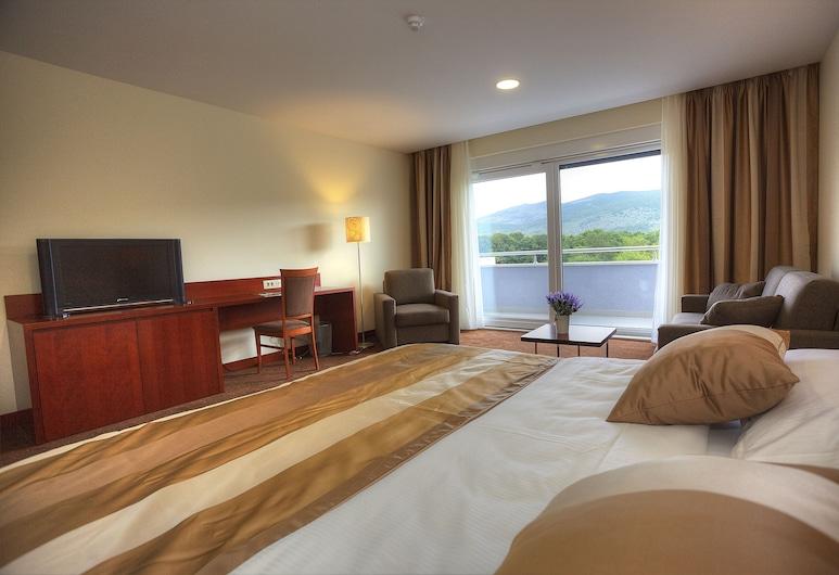 Hotel Palace Medjugorje, Medjugorje, Standard-herbergi fyrir þrjá - 3 einbreið rúm - fjallasýn, Herbergi