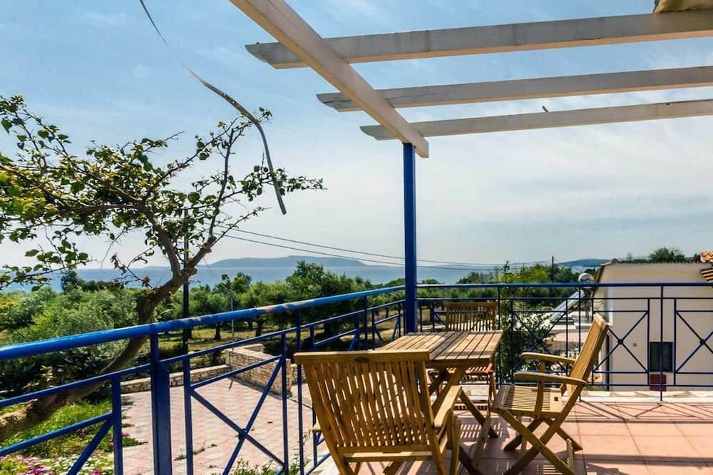 Studijas tipa numurs, skats uz jūru - Skats no balkona
