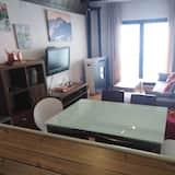 Paaugstināta komforta dzīvokļnumurs, divas guļamistabas, balkons - Dzīvojamā istaba