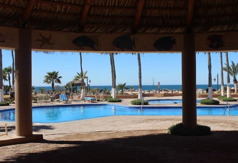 Marina Pinacate 2BR 105-v by Casago, Puerto Peñasco, Condominio, 2 habitaciones, Alberca al aire libre