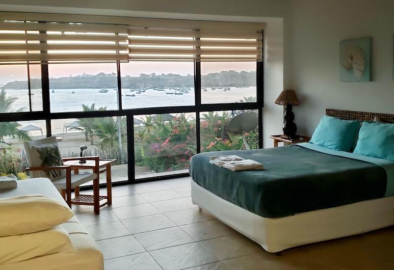 阿楊格民宿, 科隆切堂區, 套房, 多張床, 露台, 海灘景觀, 客房