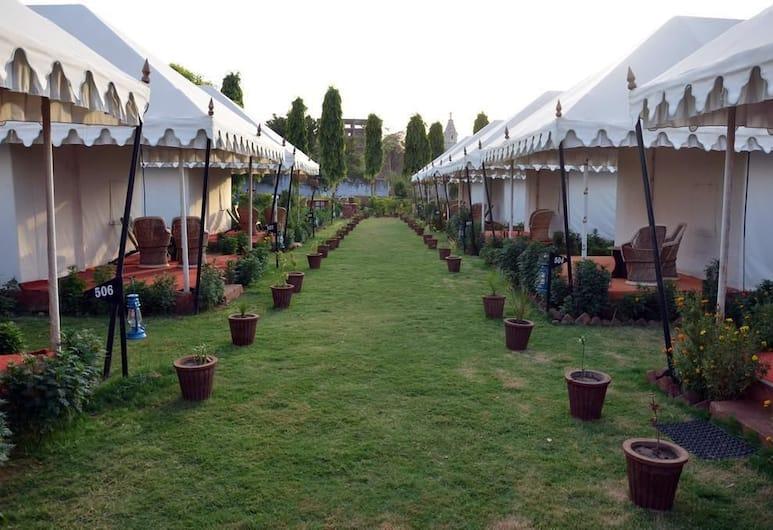 The Paramount Resort, Pushkar, Parco della struttura