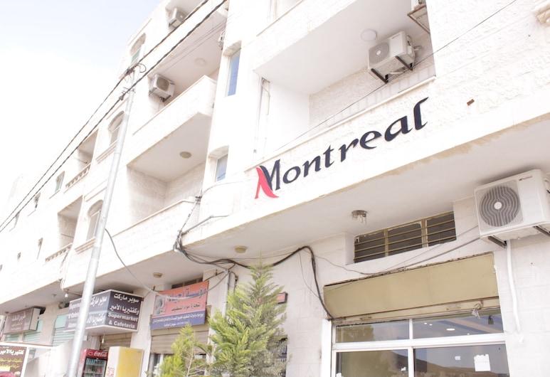 Montreal Hostel, Musa, Viešbučio fasadas
