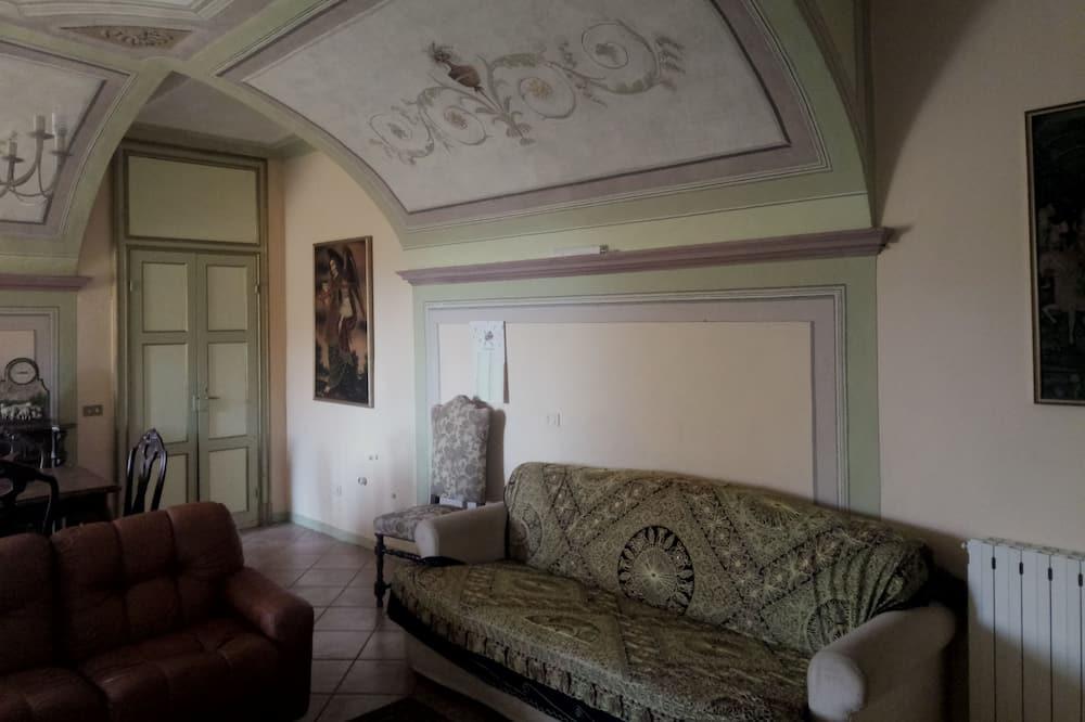 高級客房, 花園景觀 - 客廳