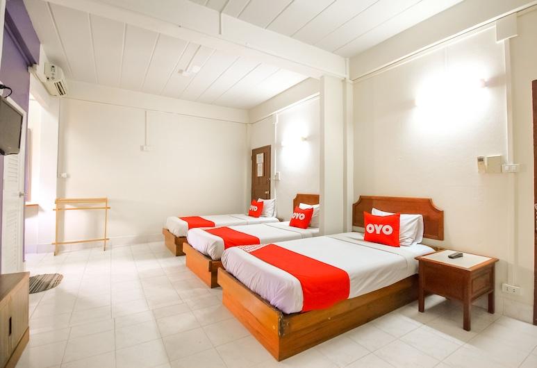OYO 335 Top Inn Khaosan, Bangkok, Deluxe Üç Kişilik Oda, Oda