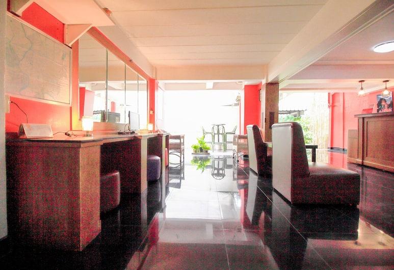 OYO 335 Top Inn Khaosan, Bangkok, Otel Dinlenme Salonu