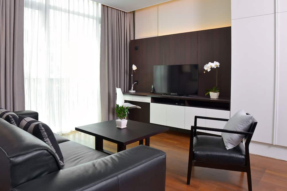 Suite, 1 Bedroom (Min 3 Nights Stay) - Living Area