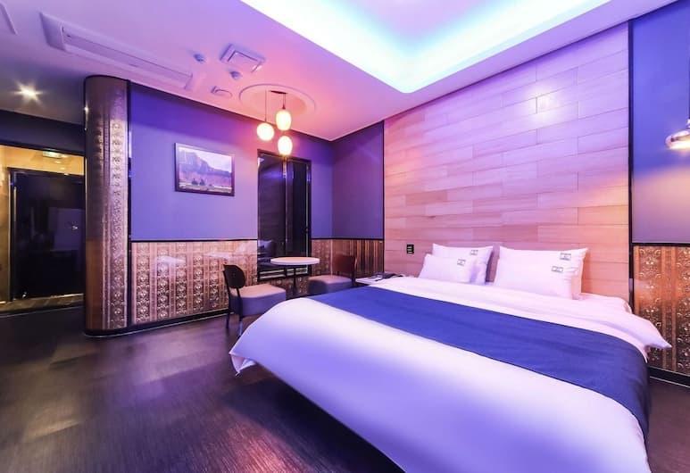 Legend Hotel, Busan, Kamar Double Royal, jet tub, Kamar Tamu