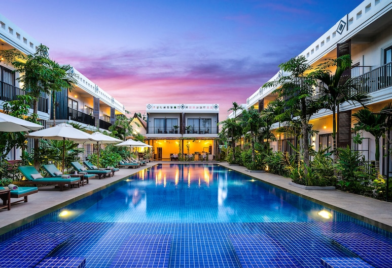 Resort D' Popular, Siem Reap, Outdoor Pool