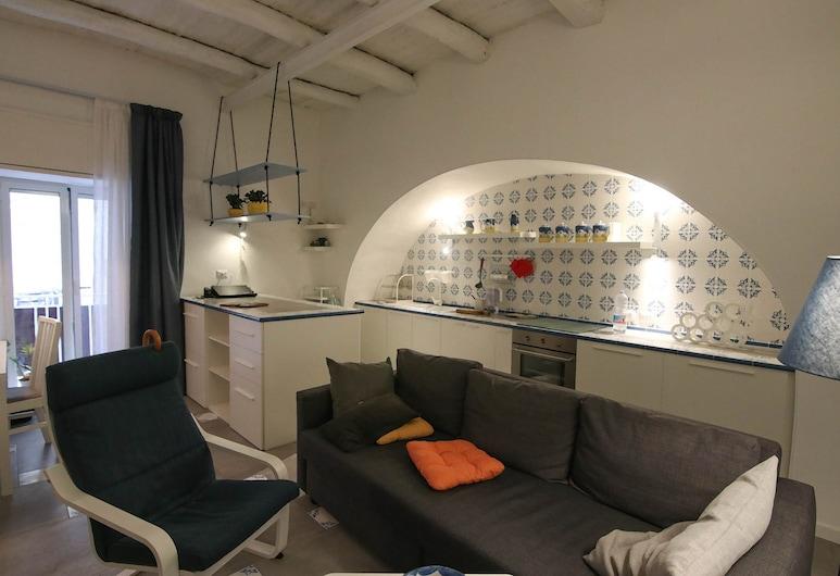 那波林塔斯卡酒店, 那不勒斯, 公寓, 1 間臥室, 客廳