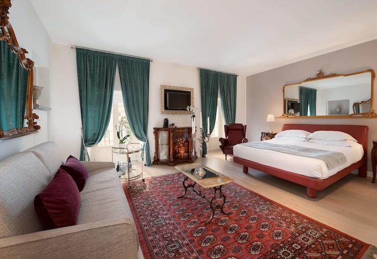 Corte Realdi Luxury Rooms - Torino, Turín, Dvojlôžková izba typu Grand, výhľad na mesto, Hosťovská izba