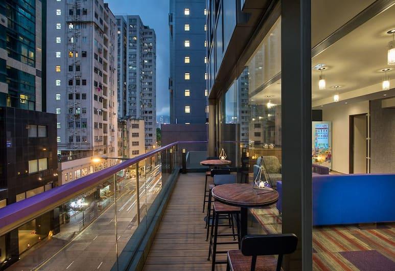 Hotel Purple Hong Kong, Hongkong, Terrasse/veranda