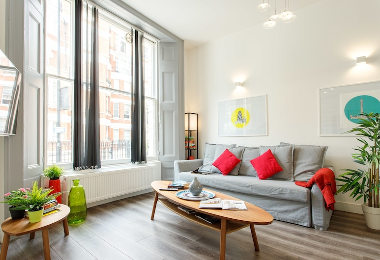 Notting Hill Residences, Λονδίνο, Luxury Διαμέρισμα, Περισσότερα από 1 Κρεβάτια, Περιοχή καθιστικού