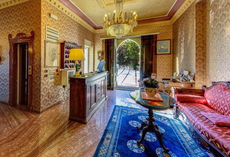 Hotel Villa Riis, Taormina, Receptie